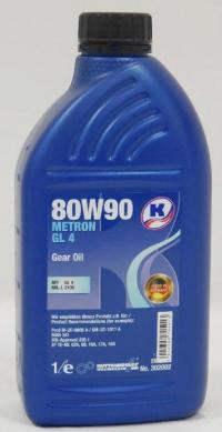 Трансмиссионное масло 80W90 METRON GL 4 KUTTENKEULER 1л Купить в Луганске ЛНР