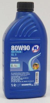 Трансмиссионное масло 80W90 METRON GL 5 KUTTENKEULER 1л Купить в Луганске ЛНР