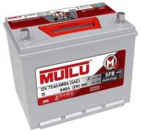 Купить Аккумулятор Mutlu 6CT 75Ah R+ 640A  в Луганске ЛНР