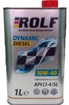 Моторное масло 10W/40 ROLF Dynamic Diesel 1л Купить в Луганске ЛНР