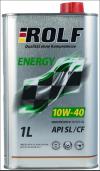 Моторное масло 10W/40 ROLF Energy 1л Купить в Луганске ЛНР